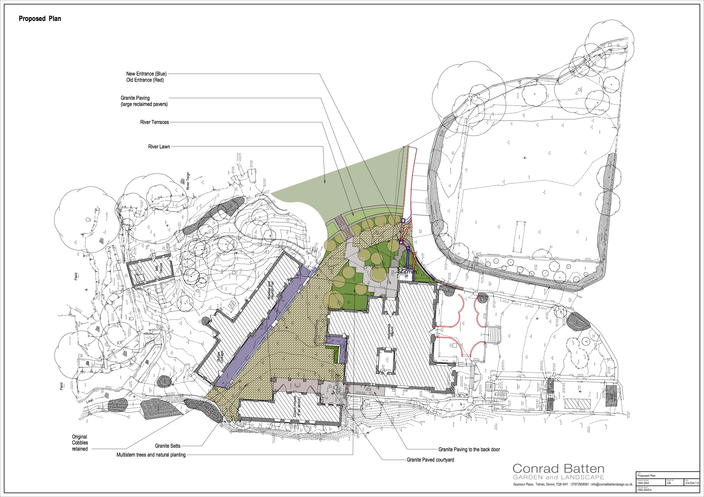 Holystreet website garden design devon